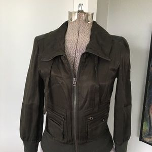 A/X ARMANI EXCHANGE Olive Green Jacket Small